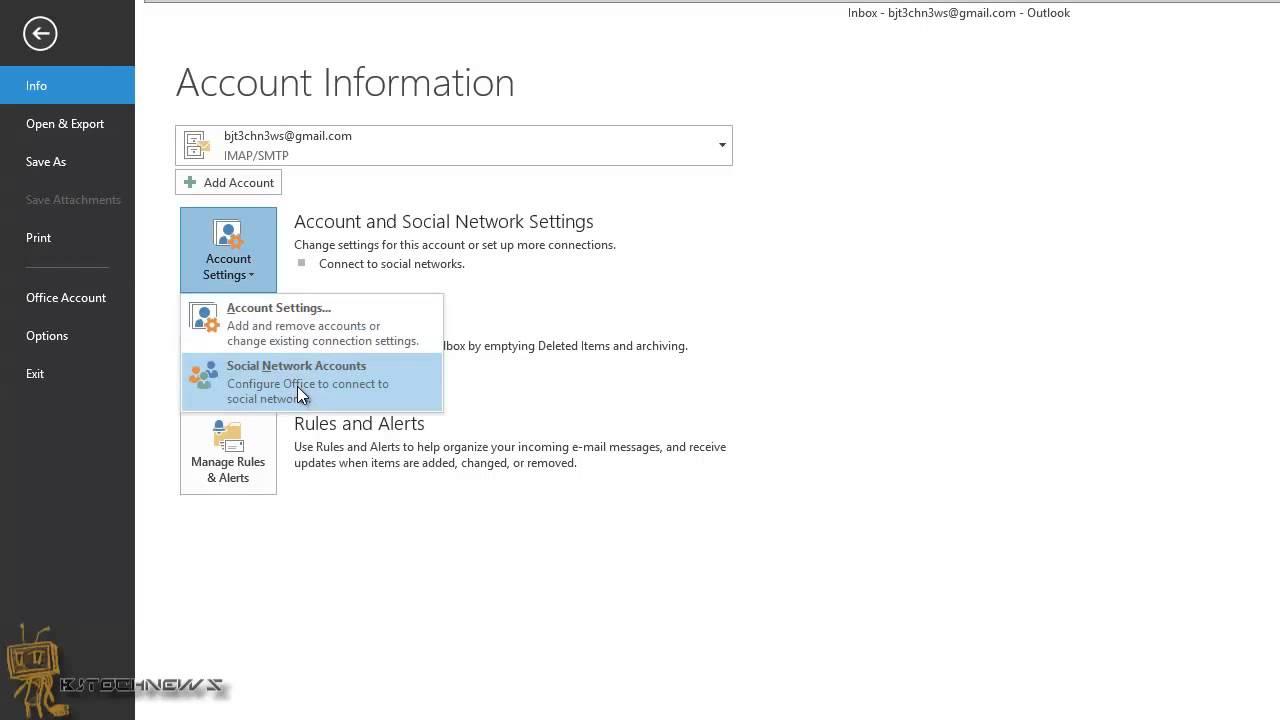 microsoft office 2013 account