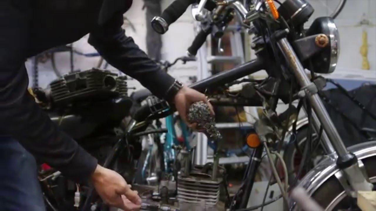 Kawasaki KZ440 LTD Build - Part 1