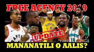 NBA Superstars   FREE AGENCY UPDATES   Mananatili ba o AALIS na?