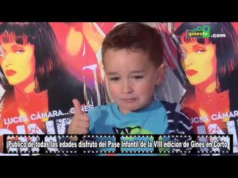 Público de todas las edades en el Pase Infantil de Gines en Corto 2018