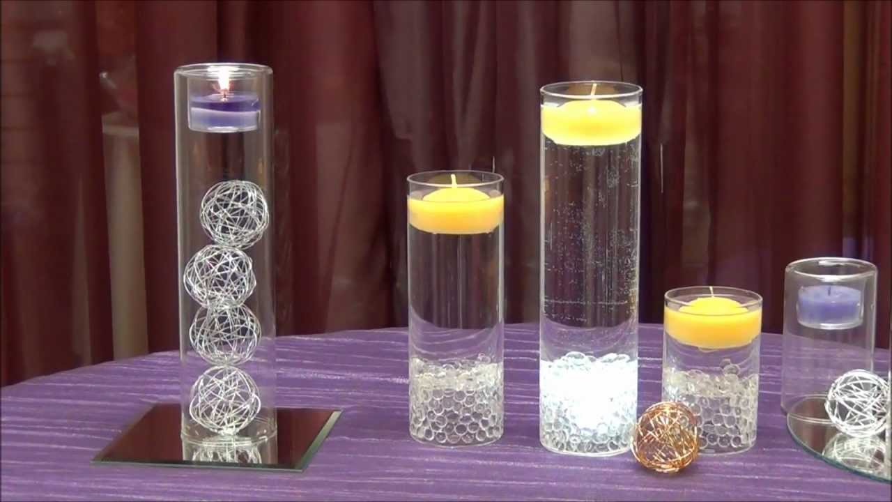 Centerpiece idea tea light cylinders from surroundings centerpiece idea tea light cylinders from surroundings youtube reviewsmspy