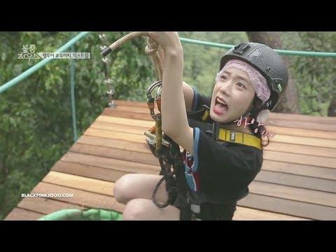 Scared of Heights, When Blackpink Jisoo Tries Parasailing & Ziplining