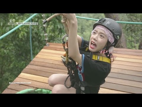 Scared Of Heights, When Blackpink Jisoo Tries Parasailing & Ziplining