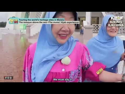 Kim Jong Kook visited MASJID SELAT MELAKA  in MALAYSIA & his mom wore a hijab
