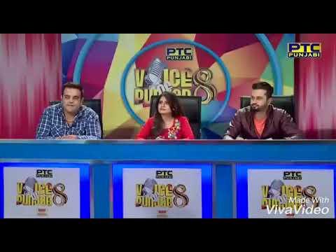 Sourabh Arora voice of punjab 8 Jalandhar auditions