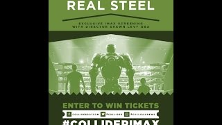 """LIVE From IMAX HQ - Q&A With """"Real Steel"""" Director Shawn Levy! #ColliderIMAX"""