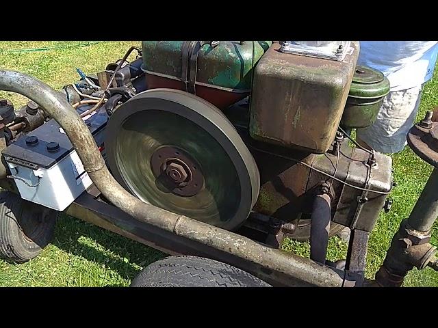 Pompa do wody spalinowa z silnikiem diesel part. 1