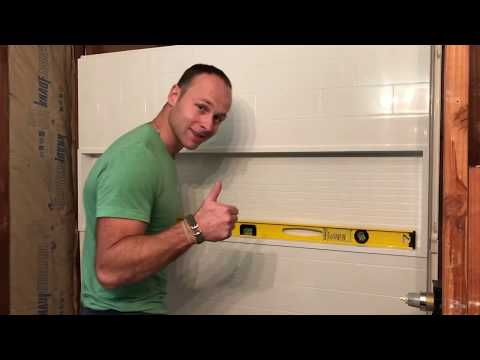 Nextile Direct To Stud Alcove Bathtub Surround Install Directions Step By Step Full Install Youtube