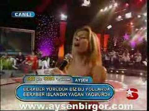 Popstar Alaturka Best 105 Ayşen 4.hafta  www.aysenbirgor.com