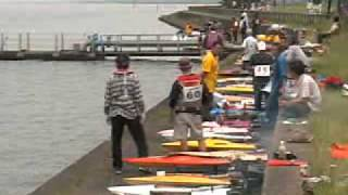 KASUMIGAURA LAKE 10KM RC BOAT RACE  ((1.wmv
