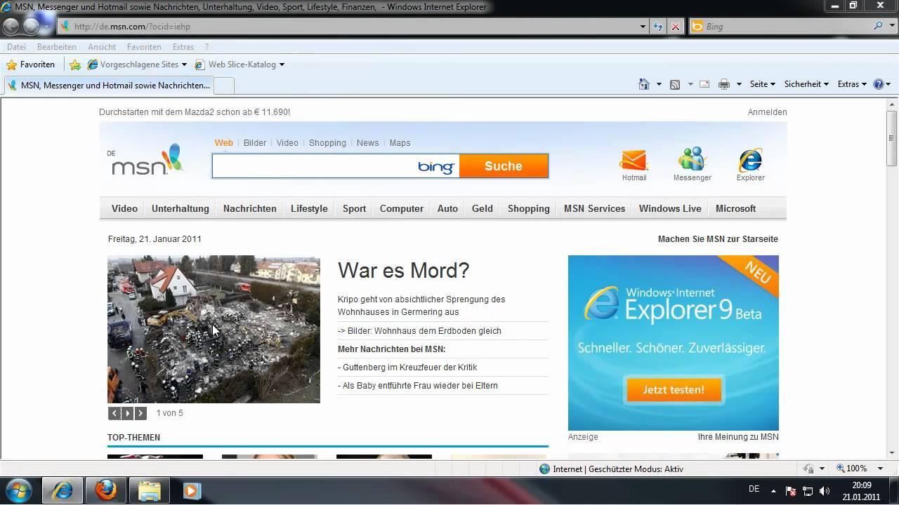 Temporäre Internetdateien Firefox