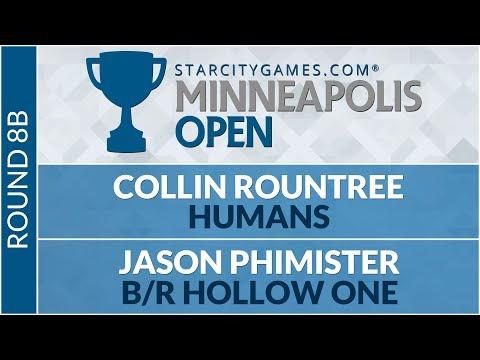 SCGMINN - Round 8B - Collin Rountree Vs Jason Phimister [Modern]