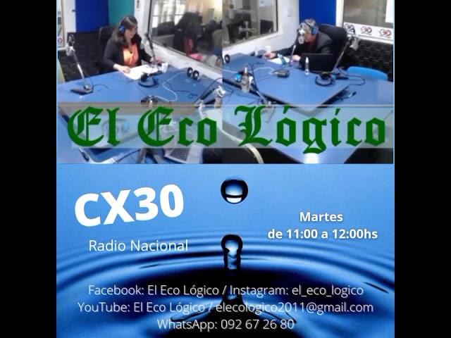 El Eco Lógico por la CX30 / Edil Ambientalista Gustavo Ripoll