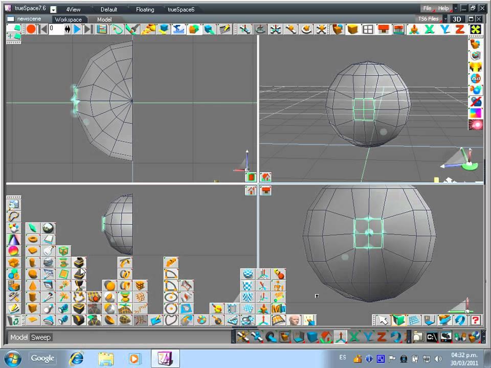 Tutorial creaci n de un personaje en 3d para video juegos for Programa para crear muebles 3d