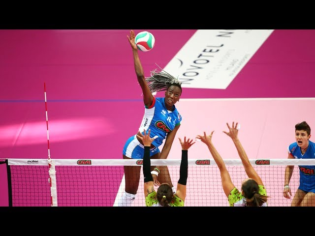 Top 20 Crazy Action by Paola Egonu | World Grand Prix 2017 | Italian Volleyball