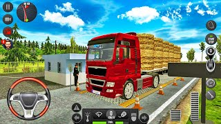 Scania Truck Transporting Hay Bales - Truck Simulator 2018: Europe - Android Gameplay