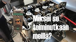 Opelin moottorin RVS käsittely
