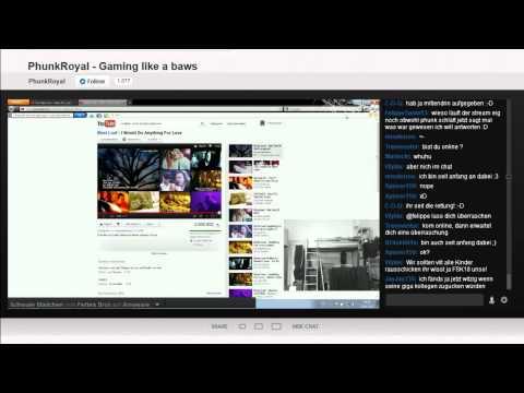 PhunkRoyal Livestream own3D von 9.6.12