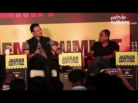 Vivek Oberoi At Jagran Film Festival Panel Discussion For Future Of Cinema