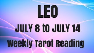 LEO JULY 8-14 2018 ~ ANGUISH TO ACTION!!