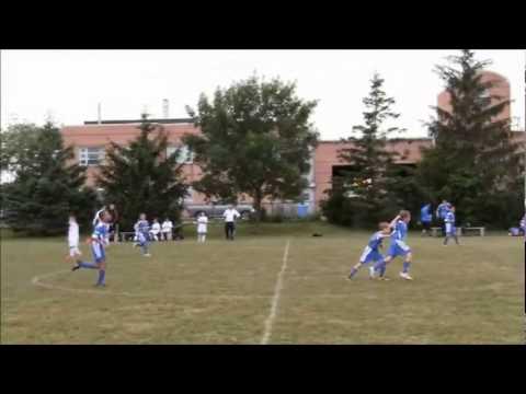 Zac U10 Soccer Season Goals