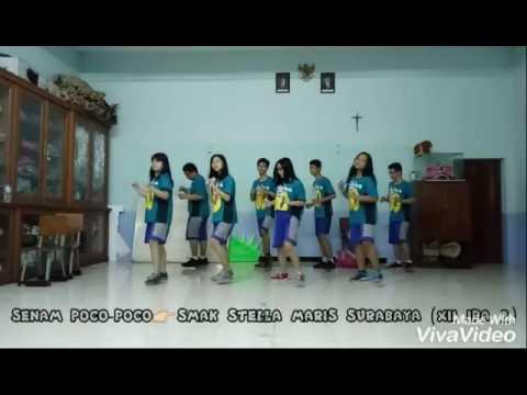 Senam Poco-Poco by SMAK Stella Maris Surabaya (XII IPA 2)