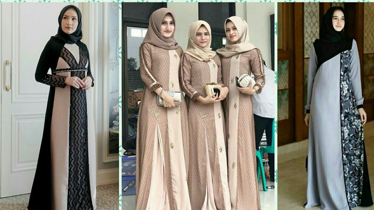 43 Model Baju Gamis Terbaru 2021 Wanita Gemuk, Inspirasi ...