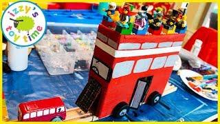 Cars ! Custom Train DOUBLE DECKER LEGO BUS!