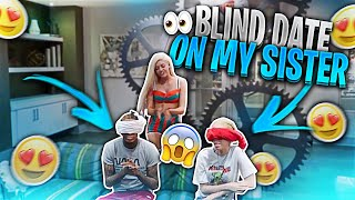 I Set My Lil Sis Up On a Blind Date... *Gone Wrong* *MUST WATCH* | Woah Vicky