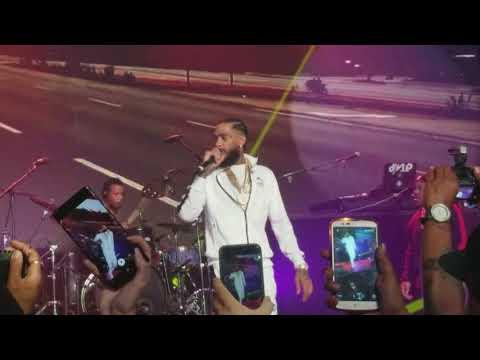 "Nipsey Hussle & Diddy ""Young Nigga"" (LIVE) on 2/15/18 [Hollywood Palladium]"