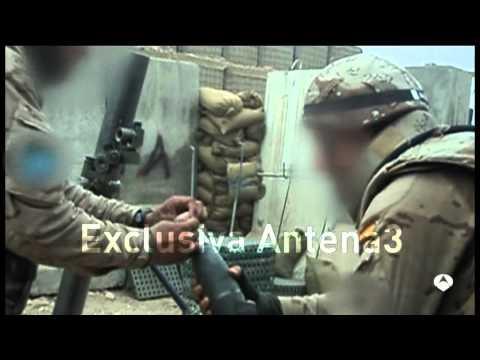 Soldados españoles repelen ataque taliban en Afganistán - Spanish troops strike in Afghanistan
