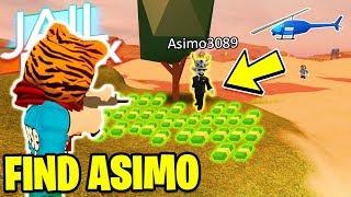 Find ASIMO3089 Get FREE Jailbreak Cash! *HIDE AND SEEK* | Roblox Jailbreak NEW UPDATE