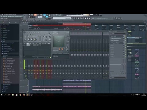 Fl Studio 12 Melodic Dubstep Part 3 [Build up and Effects]