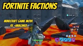 Fortnite Creative Factions | Minecraft Game mode Re-Imagined Trailer (code)