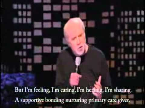 George Carlin Modern Man Captioned