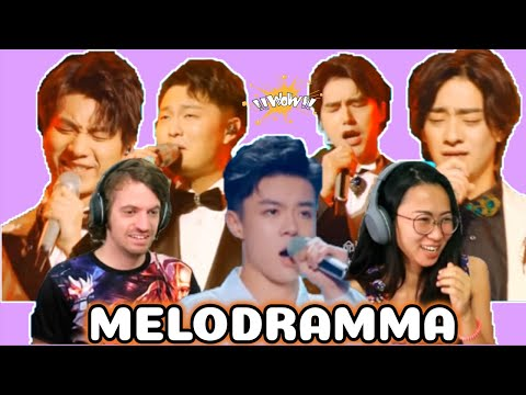 声入人心男团 (Super Vocal) -  Melodramma  | Singer 2019 | Episode 9 |  蔡程昱 - 方书剑 | REACTION ❤️