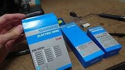 Shimano Di2 D-Fly Installation: Replacing SM-EWW01 with EW-WU101