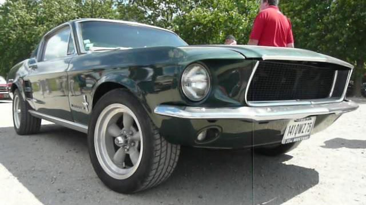 1967 ford mustang fastback bullitt youtube. Black Bedroom Furniture Sets. Home Design Ideas