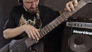 "FLESHBOMB - ""Daemonic Extraterrestrial Infestation"" on bass"
