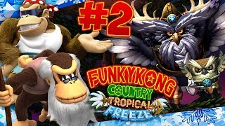 ABM: Donkey Kong Tropical Freeze !! Walkthrough # 2 HD