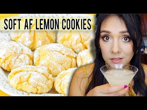 THE SOFTEST LEMON COOKIES EVER?! 😳🍋 | Tasty Tuesday