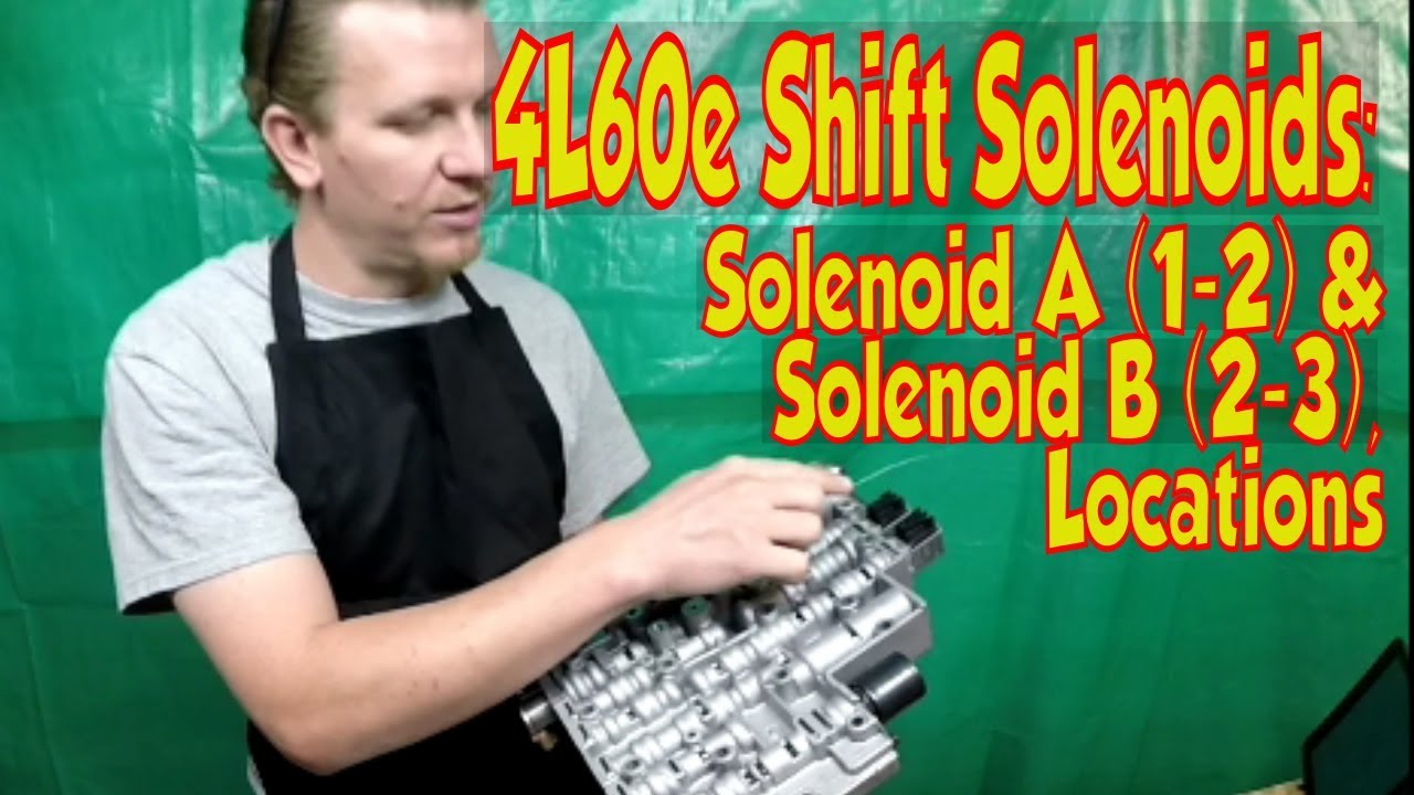 4l60e 4l65e transmission 1 2 2 3 a b shift solenoid locations 93 up [ 1280 x 720 Pixel ]