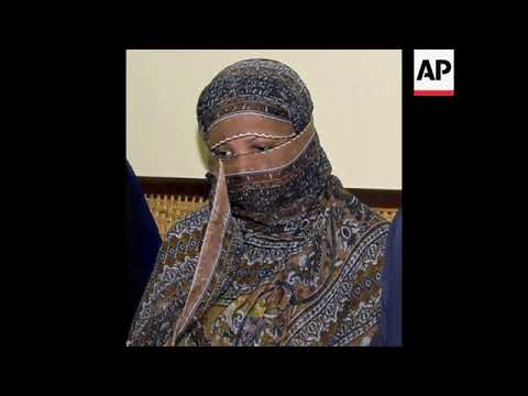Archive photo of Pakistani Christian woman acquitted of blasphemy