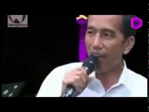 Presiden Jokowi Menyanyikan Lagu Malam Minggu Nonton Bioskop [Benyamin Sueb]