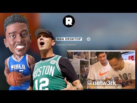 Ben Simmons Bobblehead and Boban Marjanovic   NBA Desktop With Jason Concepcion   The Ringer