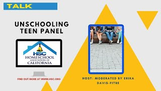 HSC 2020 Virtual Conference Unschooling Teen Panel