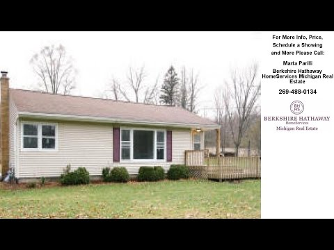 136 4th Street, Plainwell, MI Presented by Marta Parilli.