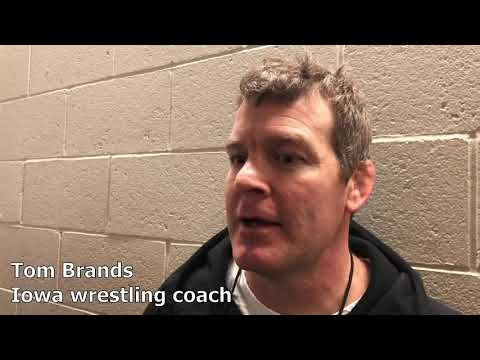 fe4331763cd Tom Brands recaps Day One at the 2019 NCAA Wrestling Championships ...