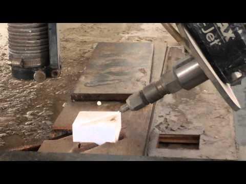 3D waterjet cutting