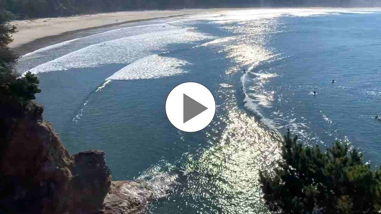 Surfing Otter Rock Oregon - Adventure Guru